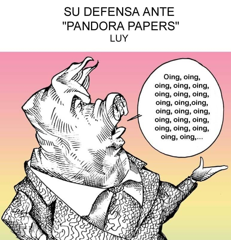Cartón de Luy | PANDORA PAPERS
