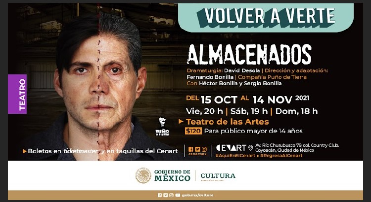 Entrevista con Actor y Director de la obra de teatro Almacenados